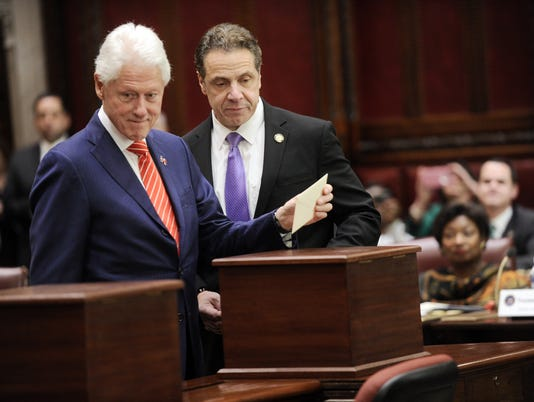 William J. Clinton, Andrew Cuomo