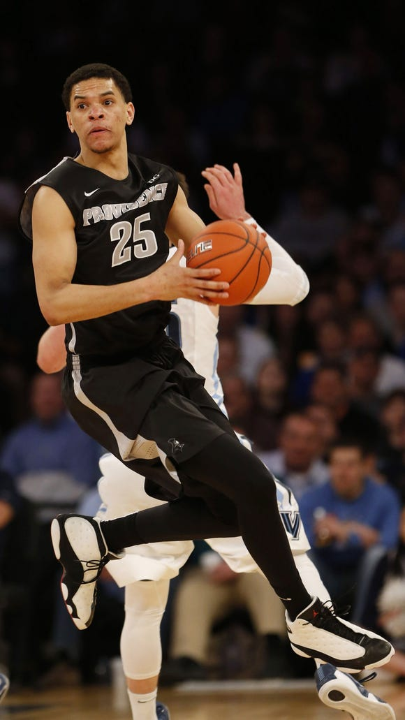 Former Providence forward Tyler Harris is considering transferring to Auburn.