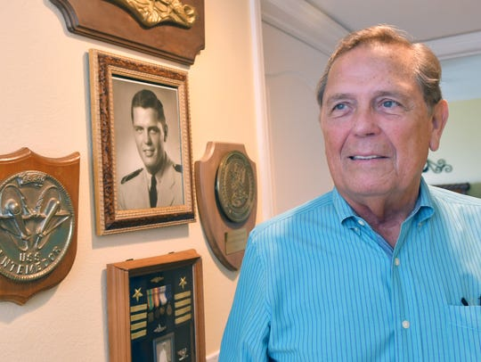 """Glenn Coleman, who lives just south of Cocoa Beach, spent more than four months in captivity in Iraq in 1990 as one of Saddam Hussein's """"human shields."""" He also served in the U.S. Navy, retiring as a captain."""