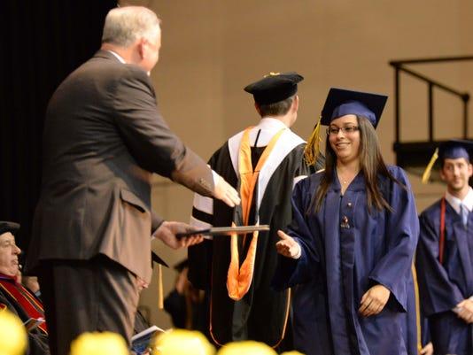 Corban graduation