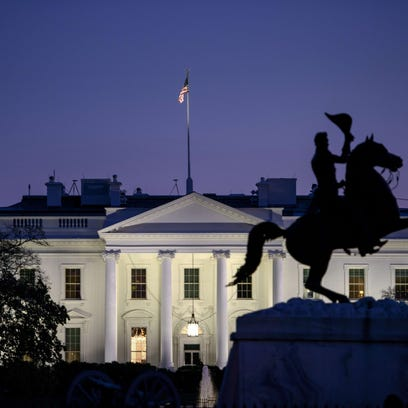 A view of the White House on Nov. 20, 2014, in Washington,