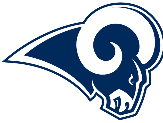 #stockphoto Rams blue and white logo 1