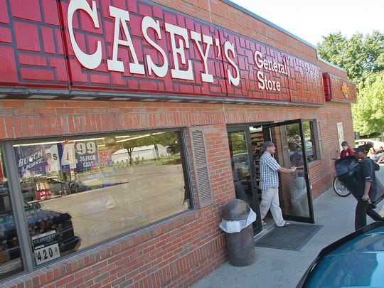 Casey's General Stores has more than 2,000 stores in 16 states, mostly in the Midwest.