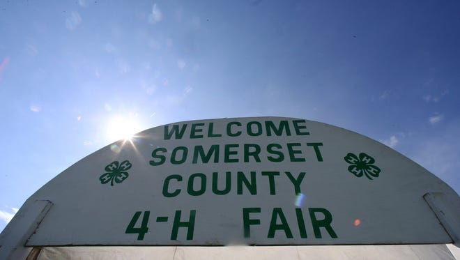 FInal day for the 2016 Somerset County 4-H Fair is photographed on Friday  August 12, 2016.