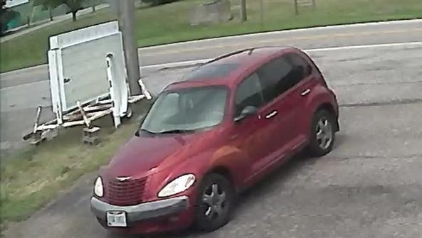 An image of the vehicle the Marion County Sheriff's
