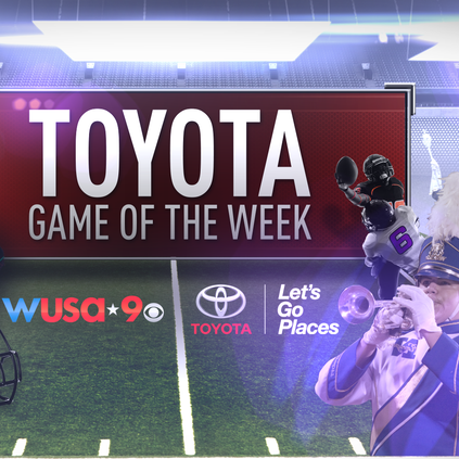 Which football matchup do you want to see featured on WUSA 9 this Friday night?