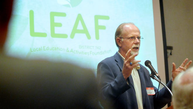 Bruce Hentges is executive director of the Local Education Activities Foundation. LEAF recently started a fund to help homeless students in the district.