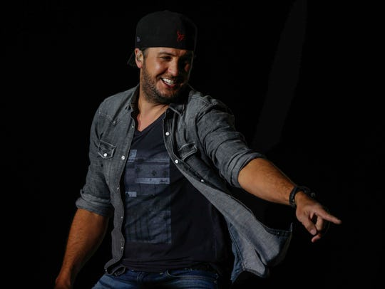 Country recording artist Luke Bryan performs during
