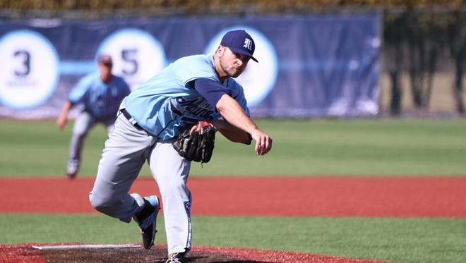 Logan Fullmer, a Cedar Crest grad who is a senior at the University of Maine, has been the closer for the Black Bears, but has started recently.