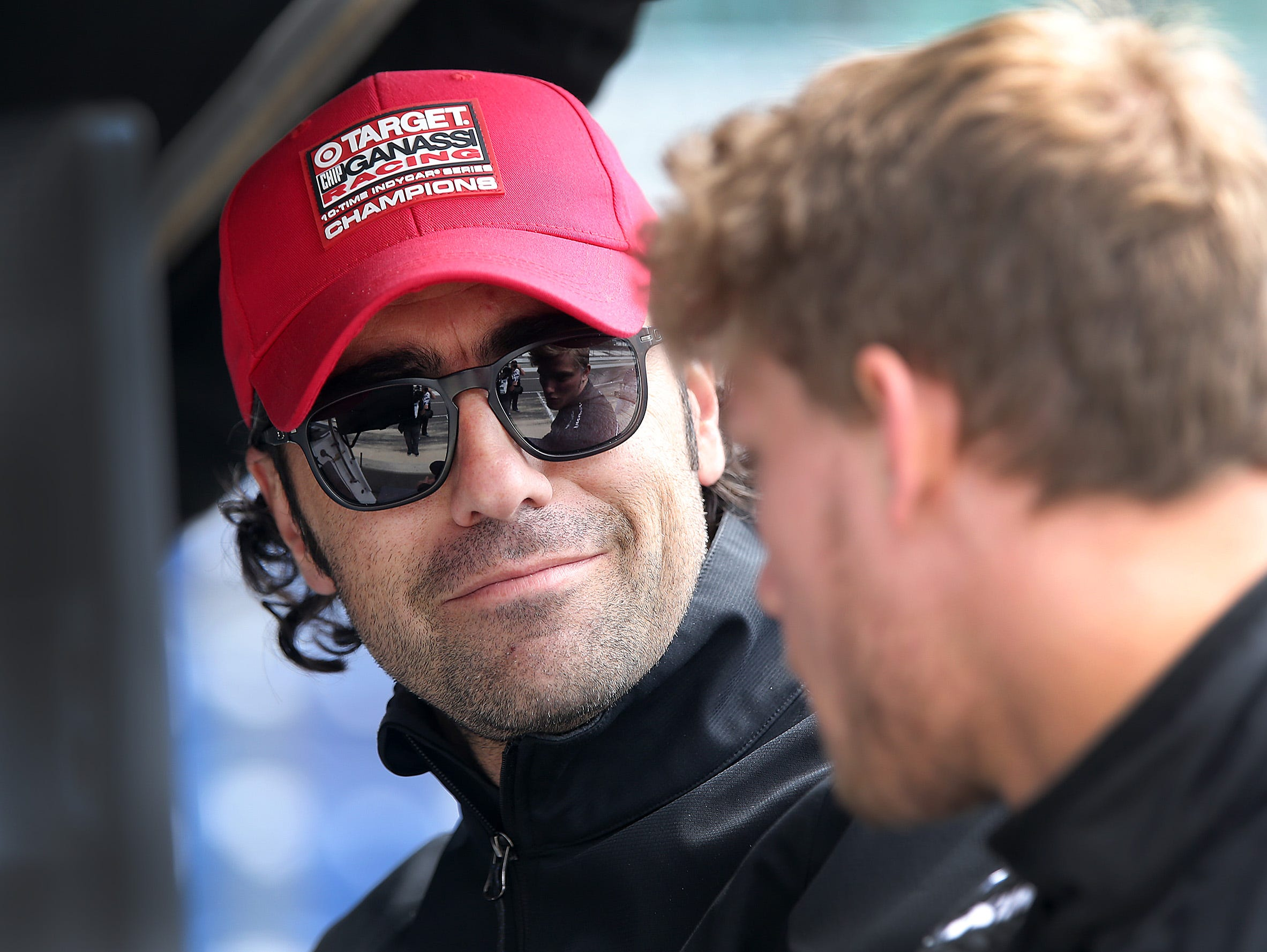 Former Indy 500 winner Dario Franchitti retired from racing after a bad crash in 2013. Now, he is an advisor to Ganassi Racing, coaching 20-year-old Sage Karam (right).
