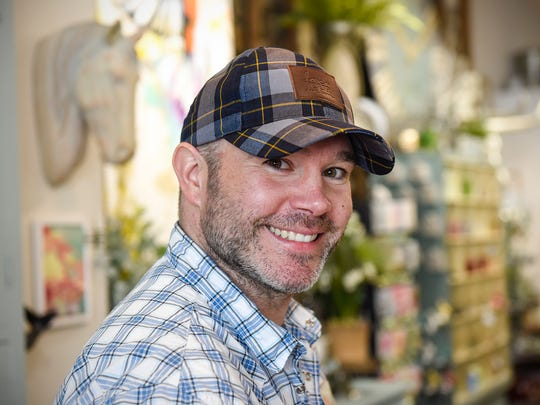 Copper Pony owner Josh Hoffman at the store Wednesday,