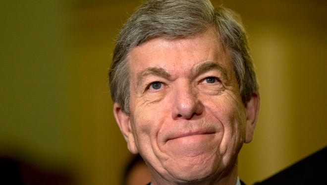 """I won't be a candidate for reelection to the United States Senate next year,"" Sen. Roy Blunt, R-Mo., says."