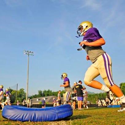 Christ Presbyterian Academy players go through drills