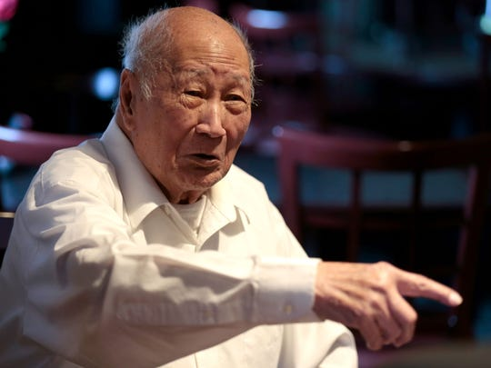 David Leong says he was not sure he would live through D-Day.