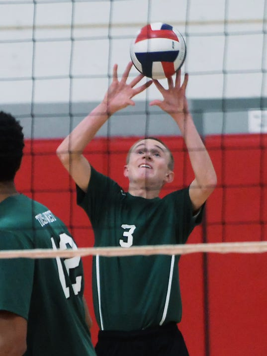 West John Frank volleyball