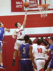 Mansfield Christian's Jared McPeek is looking to help the Flames knock off Ontario on Saturday night.