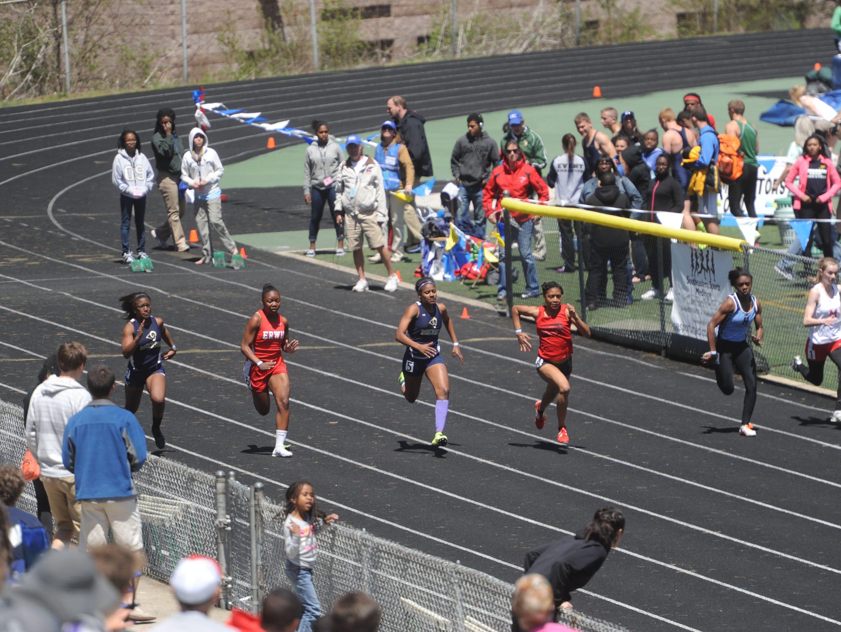 north carolina high school state track meet 2012