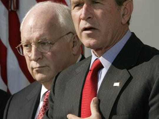 The media were too soft on President George W. Bush and Vice President Dick Cheney.