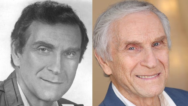 Peter Mark Richman early and current publicity photo