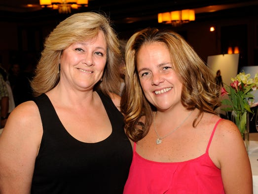 Tammie Clem, left, and Fara Regas attend the Toast & Taste of Summer event, a benefit for the Nevada Diabetes Association, at the Atlantis Thursday, June 5, 2014.