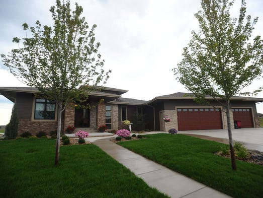 Jenny Mulkey Bye's home on Aug. 14, 2014.