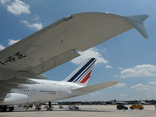 Chicago o 39 hare to get first regular airbus a380 flights for Flights to paris today