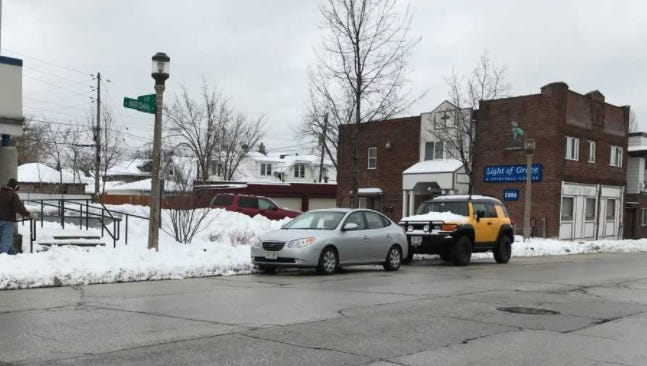 A driver asleep in traffic in the 5900 block of National  Avenue awoke suddenly when police tried to check on him. Then he sped off.