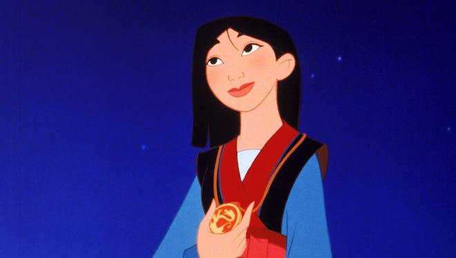 Disney's 'Mulan' has a bold heroine.