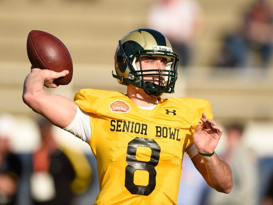 NCAA Football: Senior Bowl-South Team Practice