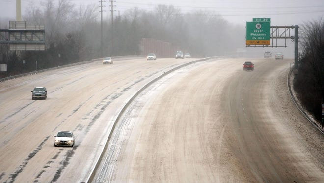 Roads are quiet and mostly unplowed on Rt 287 in Hanover in this 2007 file photo.