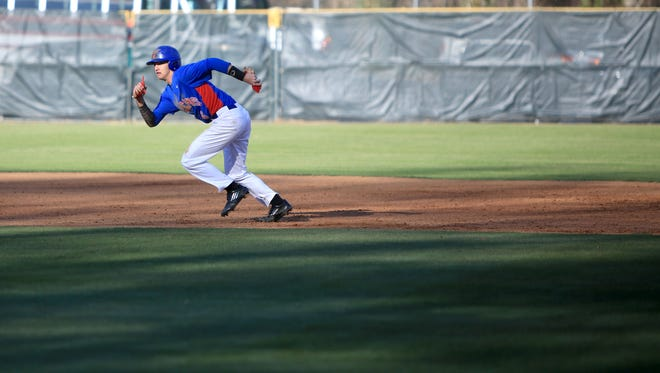 West Henderson faced off against Asheville on Monday night at Asheville High.  Asheville took the win with a final score of 7-5.-3-30-15 Colby Rabon (colbyrabon@gmail.com)