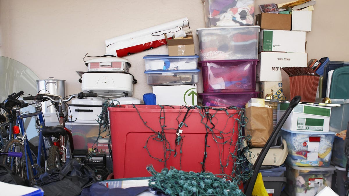 Before listing your home for sale, take the time to go through your possessions and weed out unused or unwanted items.