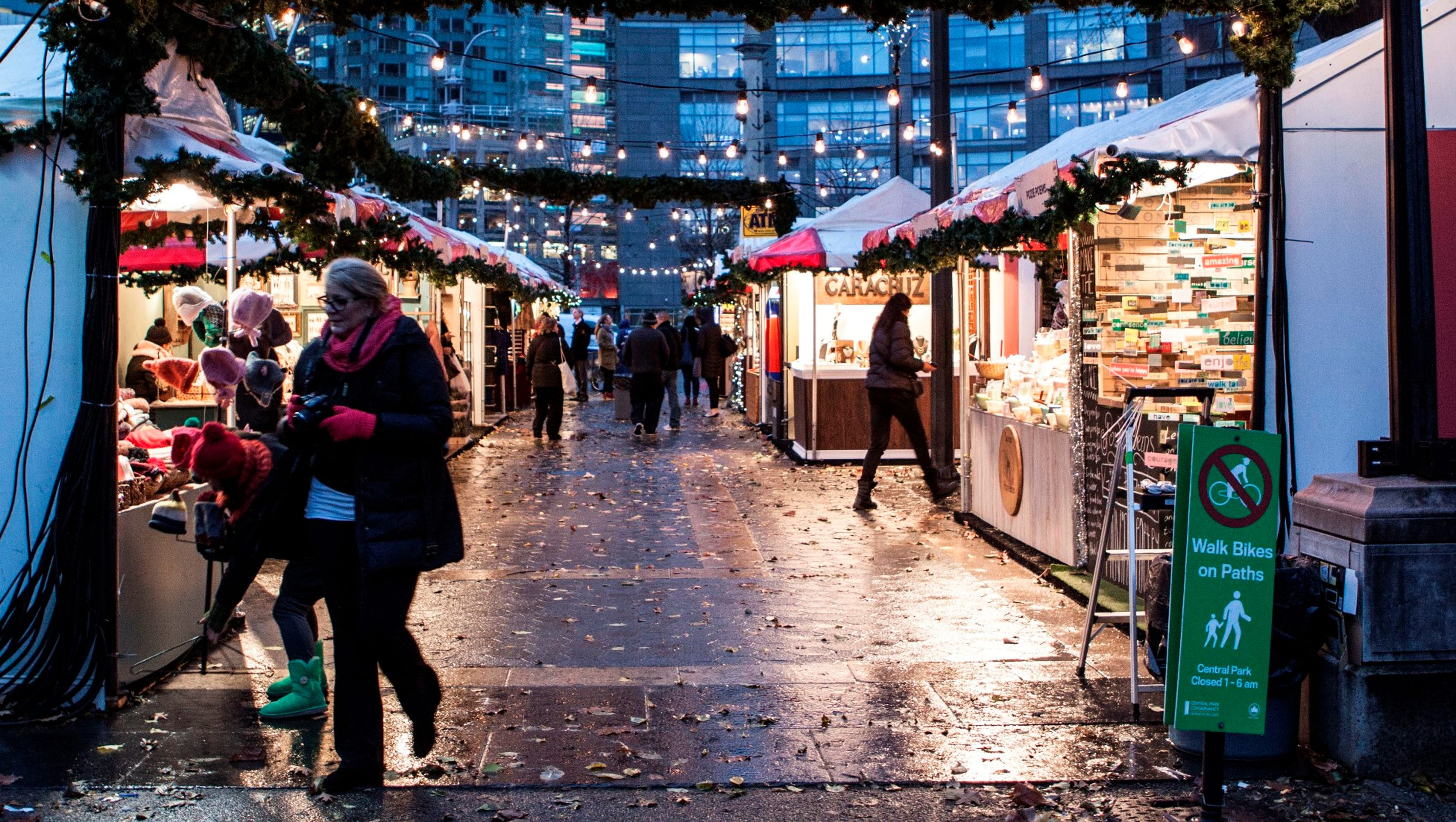 German Christmas markets in the U.S.