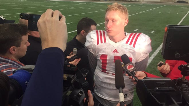 Ryker Fyfe probably will replace Tommy Armstrong Jr. as Nebraska's starting quarterback against Tennessee in the Franklin American Mortgage Music City Bowl on Friday at Nissan Stadium.