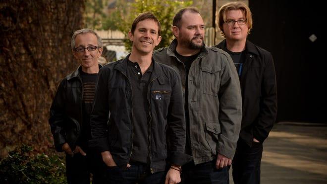 Toad the Wet Sprocket (from left: Randy Guss, Glen Phillips, Todd Nicols, Dean Dinning)