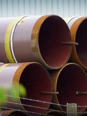 Williams stockpiles pipe segments for its Atlantic