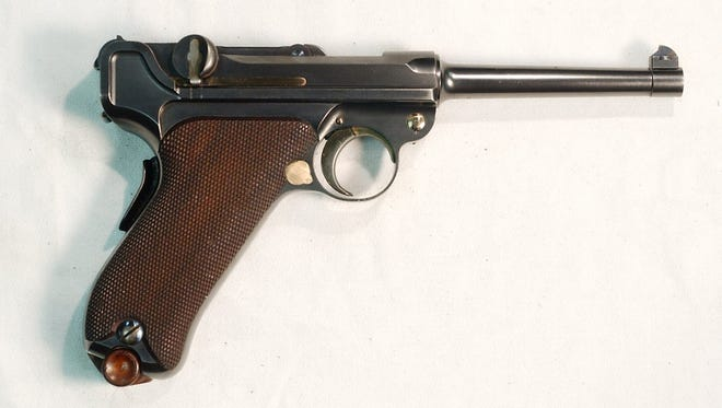 A German Luger was reported stolen from a home in Perinton.