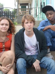 """Olivia Cooke, Thomas Mann and RJ Cyler in """"Me and Earl"""