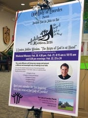 """Our Lady of Lourdes Parish in De Pere will host its inaugural Lenten Jubilee Mission from Feb. 20-24. The """"Reign of God Is at Hand"""" program is open to all, featuring weekend Masses and evening presentations."""