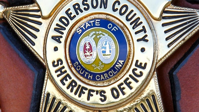 Anderson County Sheriff Office badge stock art.