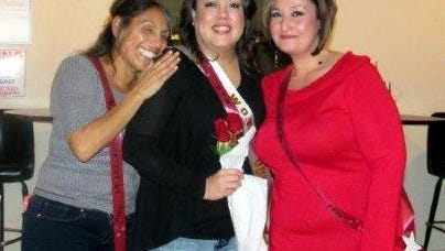 The Deming Women of the Moose crowned Pati Ortiz, center, as Deming Lodge 2088 Queen on Saturday, Nov. 28, at the lodge, 119 N. Gold St. Pictured with Ortiz are Lina Calderon, left, and Samantha Crim. The WOTM appreciate all of the participants and all who donated. All of the proceeds go to helping the Moose charities of Mooseheart and Moosehaven.