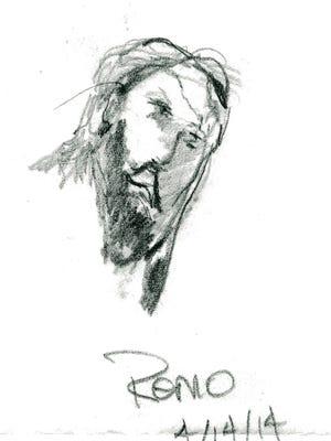 Tom Remo's self-portrait.