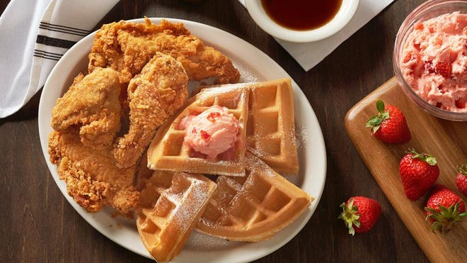 The famed Fried Chicken & Waffle dish from Metro Diner is another fine option for Father's Day. It comes complete with a Belgian waffle topped with sweet strawberry butter and half a fried chicken and served with the diner's sweet and spicy sauce.