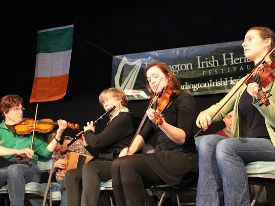 Ceili stage band