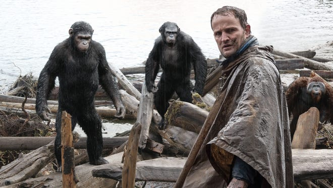 """Jason Clarke stars in """"Dawn of the Planet of the Apes"""""""