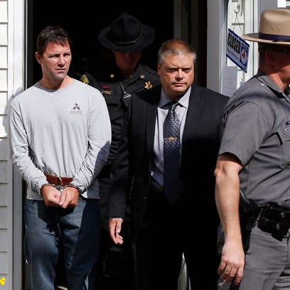 Thomas Clayton was arraigned in the Town of Caton court