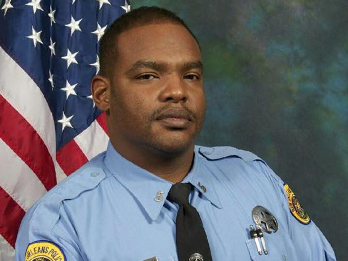 Officer Daryle Holloway was shot and killed this morning