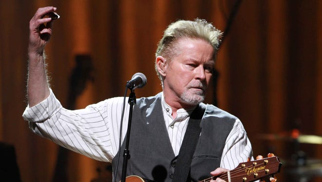 Don Henley of The Eagles performs Oct. 17 in Atlanta.