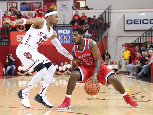 NCAA Basketball: Delaware State at St. John