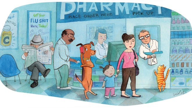 Retail pharmacies have another customer base - your pets.